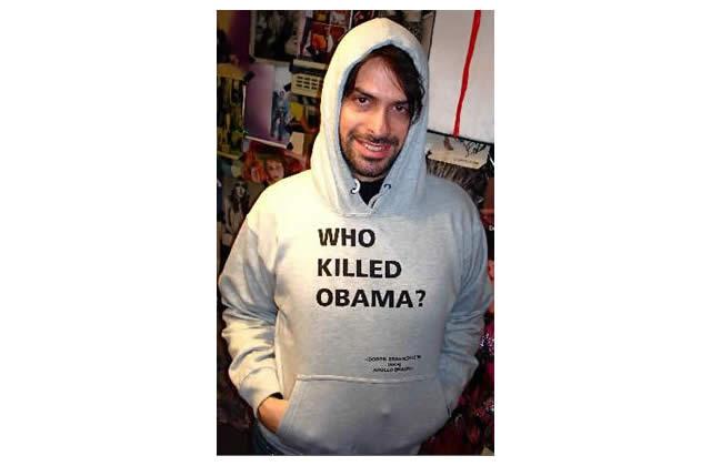 Who Killed Obama ?, le sweat-shirt (glauque)