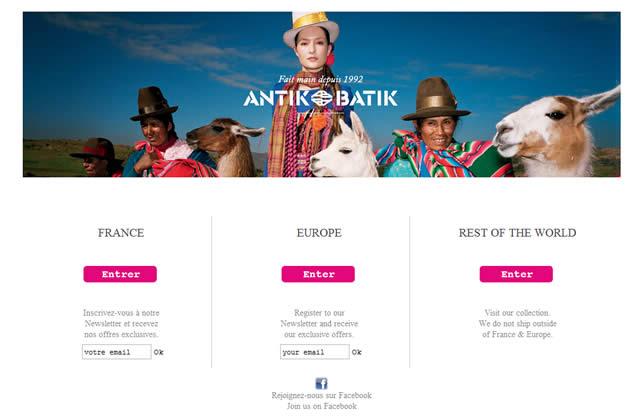 Antik Batik ouvre sa boutique en ligne