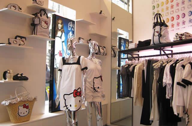 Hello Kitty ronronne dans un nouveau magasin parisien