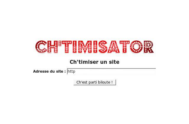Le Ch'timisator, un traducteur de sites web en Ch'ti