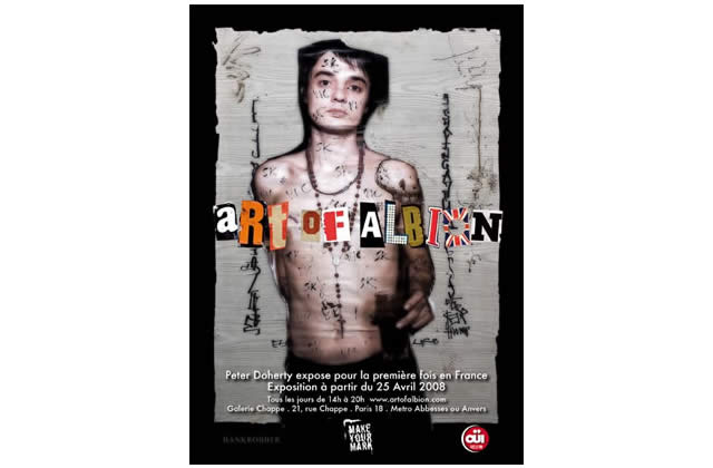 Pete Doherty expose à Paris