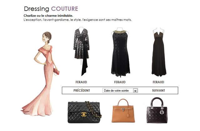 Robes et sacs de luxe à louer sur le web