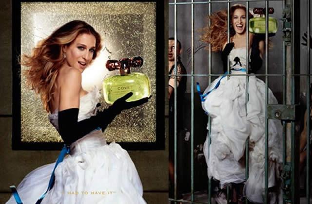 Sarah Jessica Parker présente son parfum à Paris