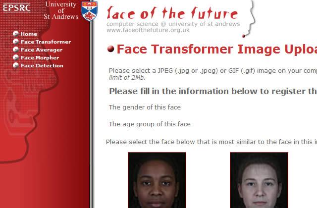 Un coup de vieux avec Face of the Future