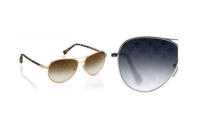 Verres monogrammés pour lunettes maxi griffées