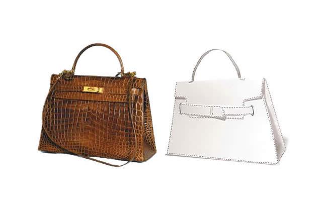 Crée toi-même ton sac Kelly d'Hermès en papier