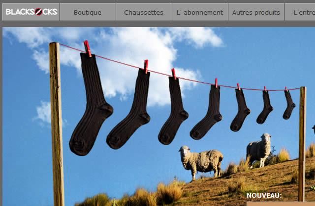 BLACKSOCKS, des chaussettes par abonnement