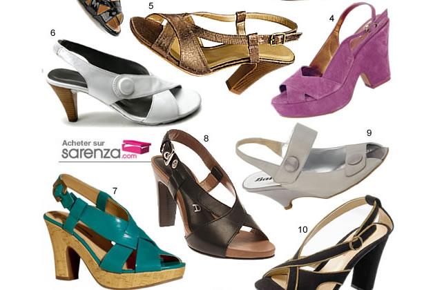 Sandales Vintage