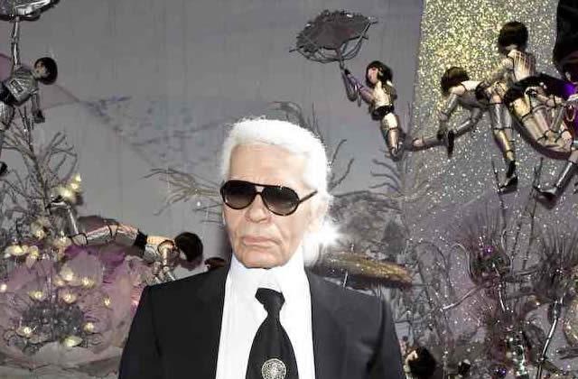 Karl Lagerfeld et Chanel partent à la pêche