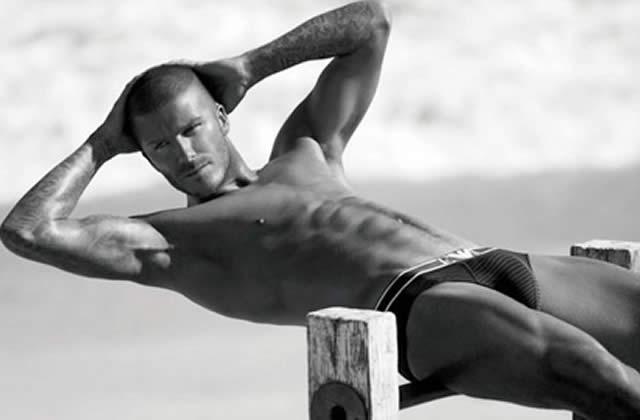 David Beckham a un mulot dans le slip