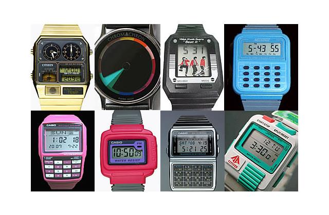 Montres geek : à l'heure des 80s !
