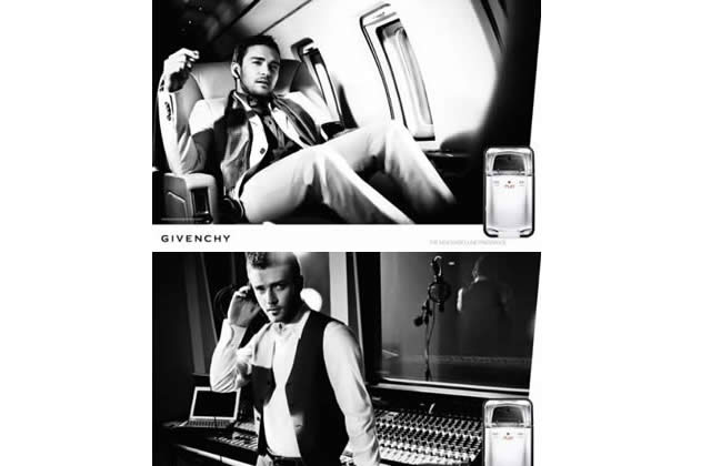Justin Timberlake pose pour Givenchy