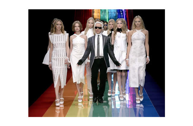 Karl Lagerfeld emménage à Versailles