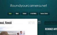 Le site du jour : I found your camera