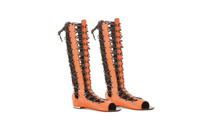 Sandales bien ficelées