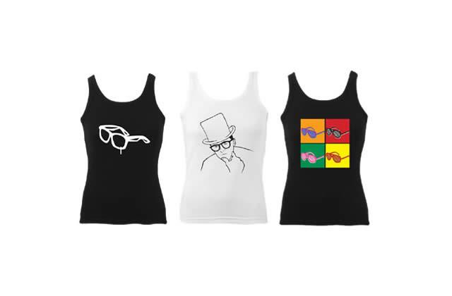 Tee-shirts acidulés à la carte chez Divao