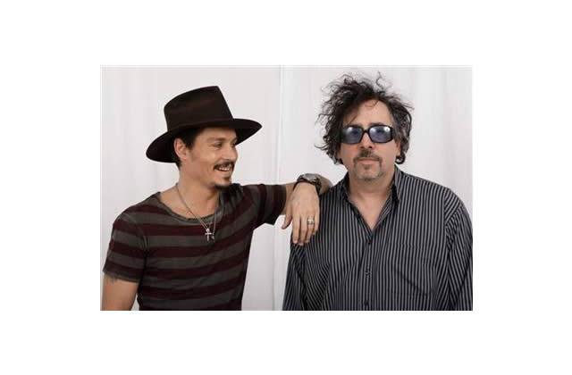 Tim Burton et Johnny Depp s'aiment d'amour