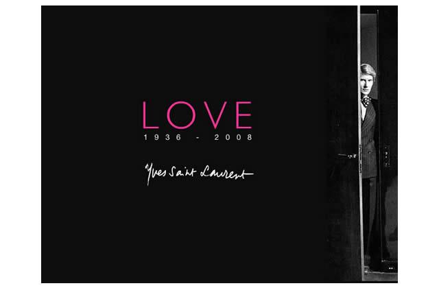 Yves Saint Laurent est mort