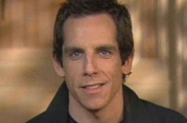 Ben Stiller parodie Tom Cruise (again)