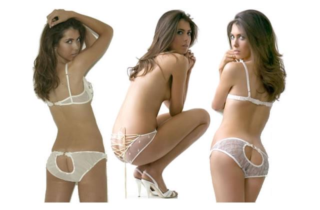Culottes échancrées pour fesses dénudées