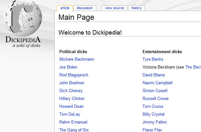 Dickipedia : le Wiki des têtes de noeud