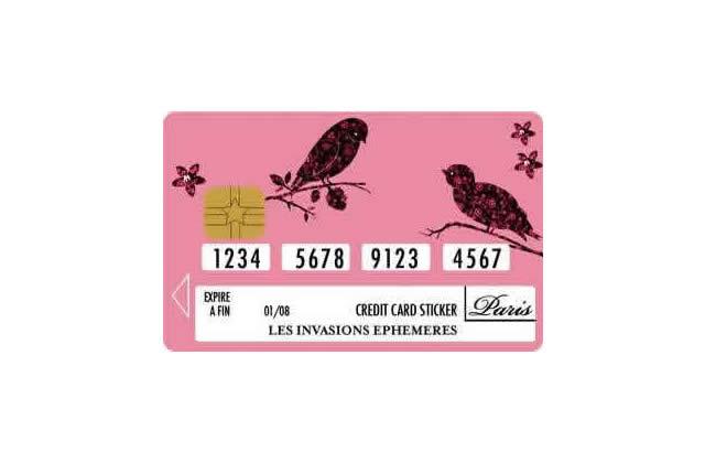 Une carte de crédit (encore plus) unique !