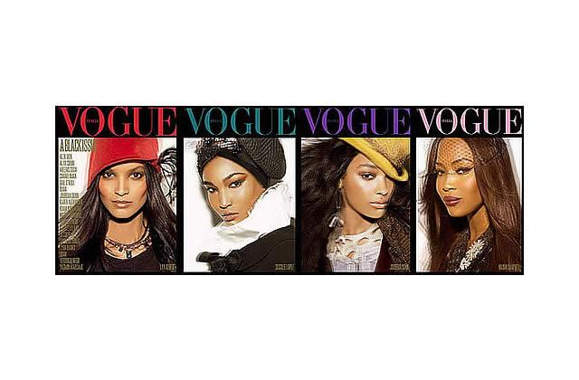 Vogue Italie : un numéro 100% black !