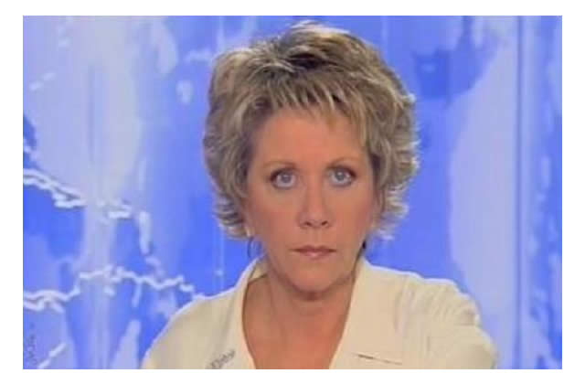 Françoise Laborde, juron au bec dans son JT