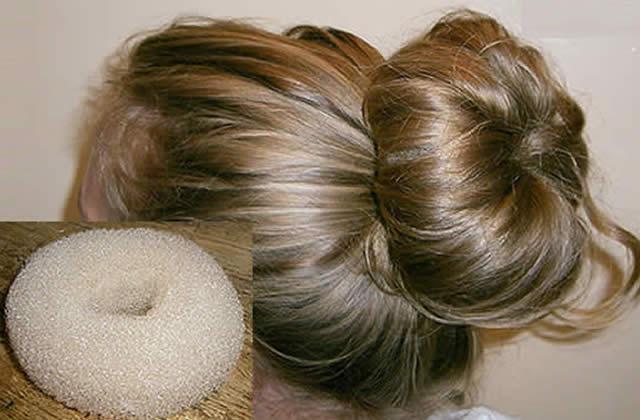 Astuce coiffure – Se faire un énorme chignon