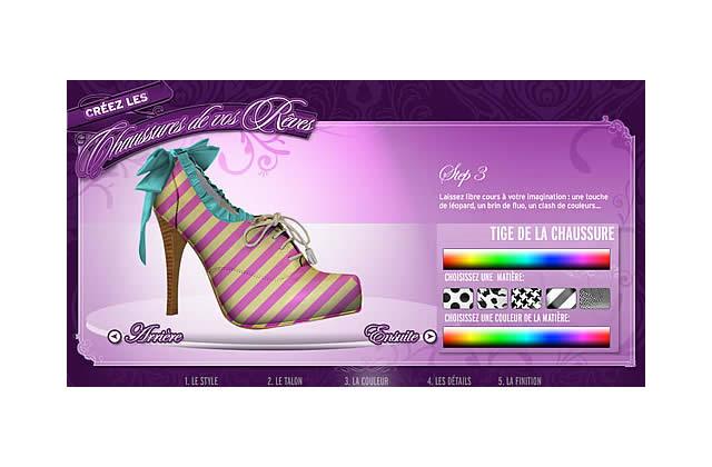Crée les chaussures de tes rêves grâce à New Look