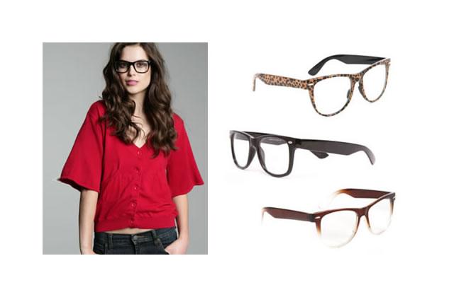 Les lunettes de vue rétro/nerd