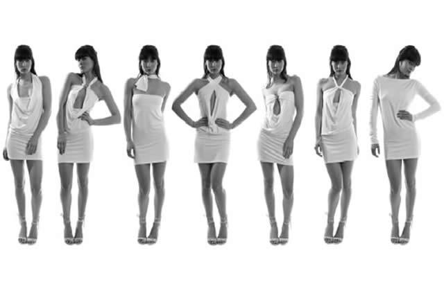 Eunué invente la robe versatile : 8 en 1 !