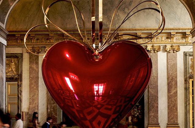 Jeff Koons au château de Versailles