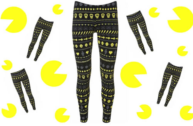 Les leggings Pac-Mania