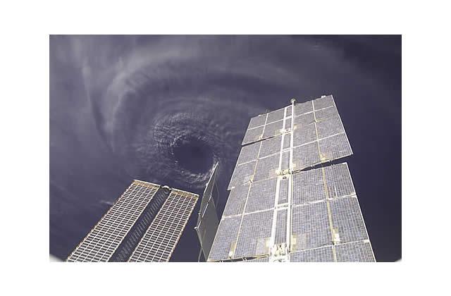 Les ouragans vus de l'espace