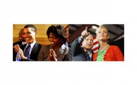 Michelle Obama/Cindy McCain, candidates au titre de First lady