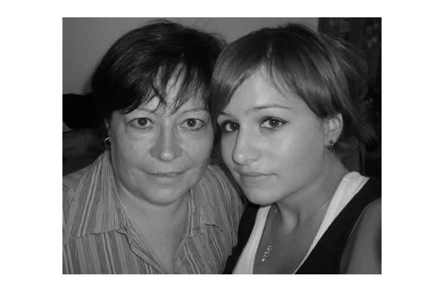 Portrait de mère et fille : Claire et Catherine