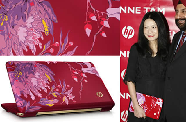 Vivienne Tam signe un ordi chic et couture pour HP