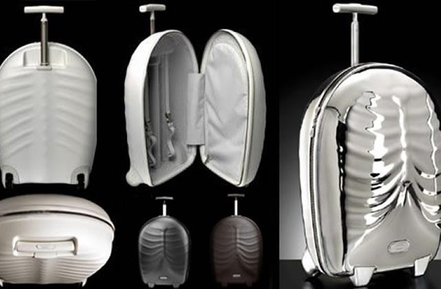 La valise humaine ou le torse à roulettes