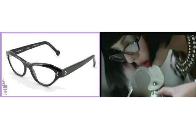 Wanted : les lunettes de Britney dans Womanizer