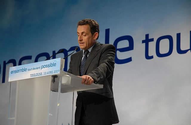 N. Sarkozy : cote de confiance en baisse