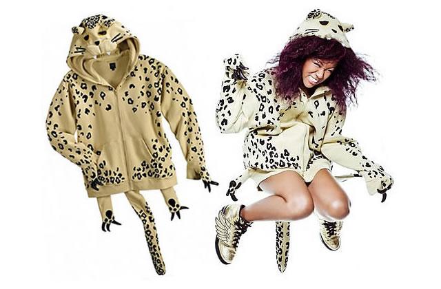 Un hoody très léopard