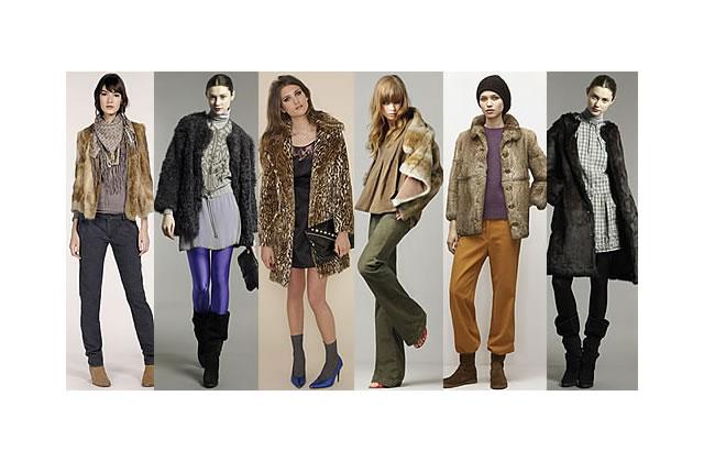 La veste en fourrure : un manteau mode !