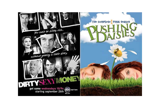 Clap de fin pour Dirty Sexy Money et Pushing Daisies
