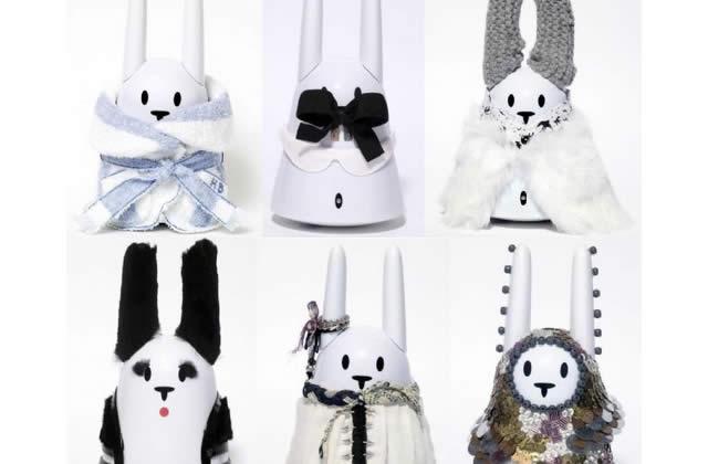 Le lapin Nabaztag relooké par la planète mode