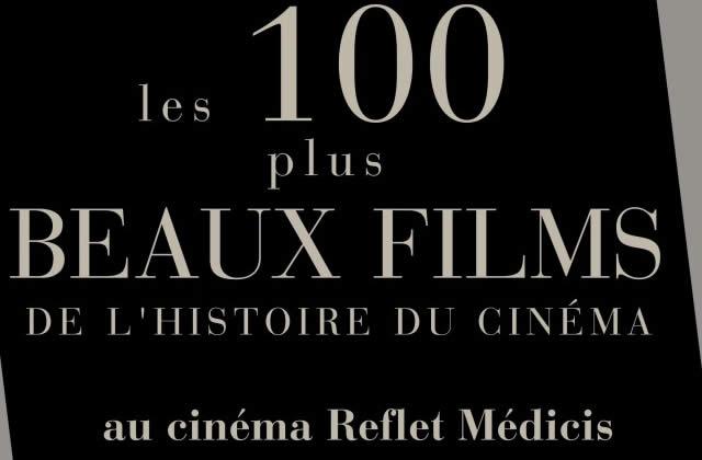Les 100 plus beaux films du cinéma au Reflet Médicis