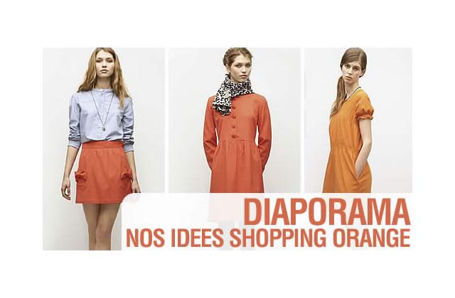 Orange, l'autre couleur tendance de l'hiver 2008
