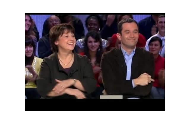 Benoit Hamon dit fuck à Yann Barthès