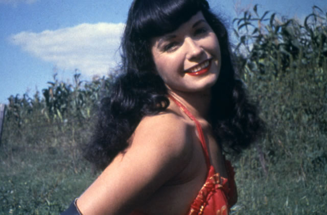 Betty Page la scandaleuse est morte