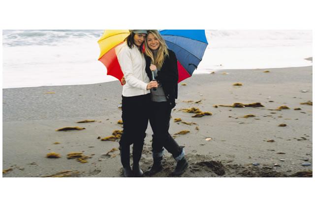 Caout-chou : les bottes de pluie